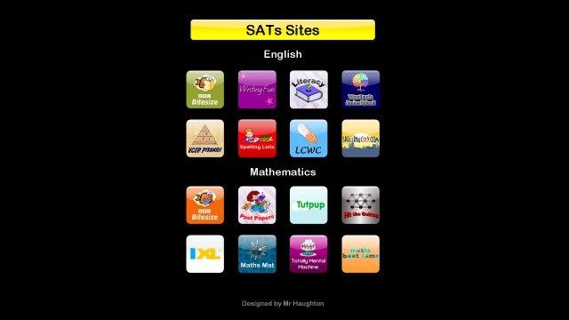 sats educational websites